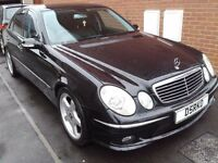 2005 Mercedes E320 CDi, 101k FSH No Advisories on MOT, Leather, Climate, AMG Looks