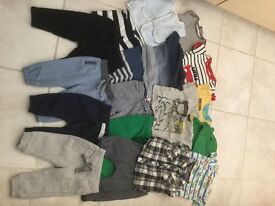 Eighteen Items Of Clothing For Baby 3- 6 Months Old