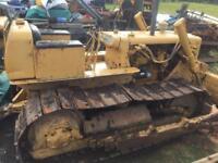 Caterpillar D4D bulldozer.
