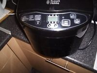 RUSSELL HOBBS BREAD MAKER, LIKE HOME BAKING YOU WILL LOVE THIS