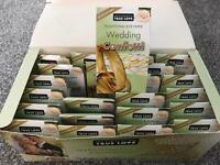 24 individual cartons of wedding confetti rice paper biodegradable