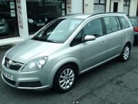 2007 57 VAUXHALL ZAFIRA 1.6 CLUB MPV 7 SEATER ** ONLY 68900 MILES ** 12 MONTH MOT ** 7 SEATS **