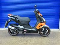 2014 PEUGEOT SPEEDFIGHT 50CC DARKSIDE LIQUID COOLED , LOW MILES