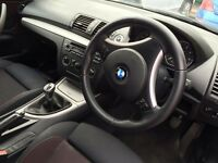 BMW 1 Series Petrol Black Full BMW service history last service last week MOT due December 1 owner