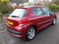 Peugeot 207 1.6 HDi Envy 5dr (red) 2011