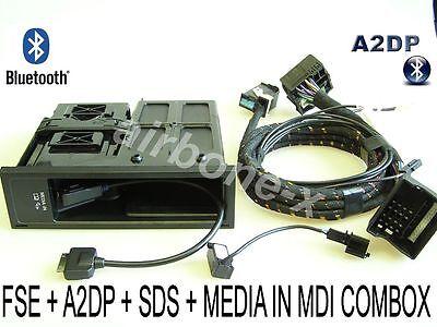 VW SKODA Bluetooth Freisprecheinrichtung MDI Media-In A2DP Interfacebox FSE