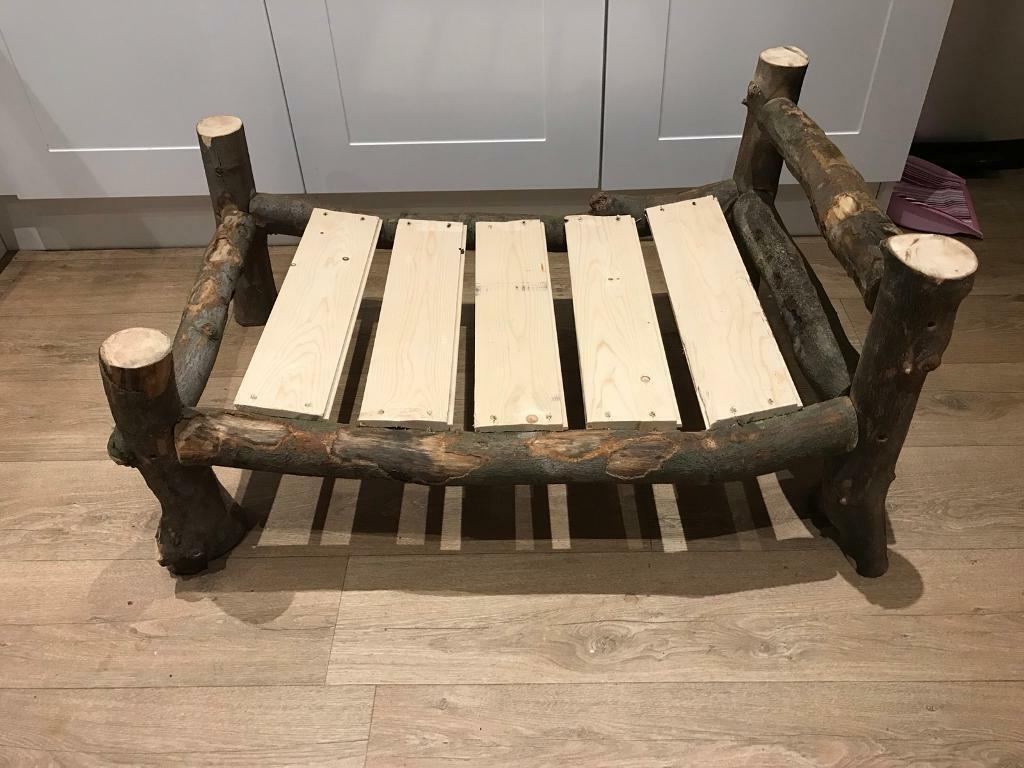 Photography prop children's log bed