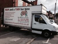 Man and Van full house removals to single items
