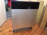 Integrated SMEG dishwasher