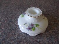 Vintage china candle holder very good condition