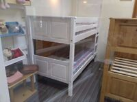£100 !!! Bunk bed - New: Corona Style whitewash Panel bunk bed - New & boxed - £100 Promotion deal
