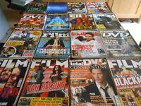 33 Film magazines including Total Film, DVD Review, Empire