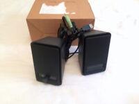 Amazon Basics USB Computer Speakers x 2