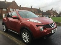 2011 NISSAN JUKE, RED, PETROL, HPI Clear, FSH, MOT 6 months, 1 Owner, Excel Condition