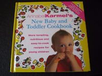 Baby and Toddler cookbook. Recipes and suggestions for fussy eaters, intolerences etc