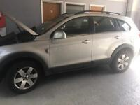 Chevrolet Captiva, 7 Seater Diesel. Engine Fault. Hence price £1000