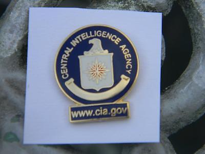 CIA lapel hat pin Tac