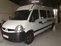 This is a Bespoke Camper Van with High Specification Renault Master