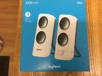 BRAND NEW - LOGITECH SPEAKERS - Z200