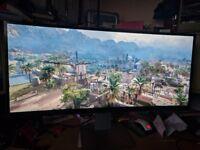 "Dell U3415W 3440x1440 34"" Ultrawide 21:9 Monitor - Great Condition"