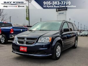 2012 Dodge Grand Caravan SXT STOW N'GO, 3.6L V6, A/C, PWR WINDOW
