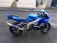 Kawasaki zx9r 1998 12 months mot