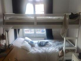 White bunkbeds -URGENT
