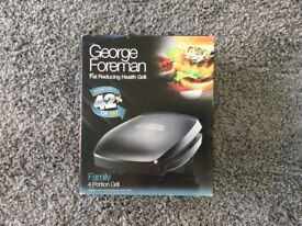 George Forman fat reducing health grill