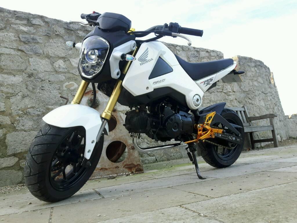 honda msx 125 grom 2014 custom monkey bike in portland. Black Bedroom Furniture Sets. Home Design Ideas