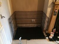 Xl dog crate excellent condition