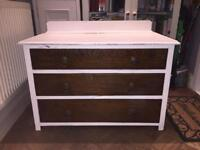 Chest of drawer - solid wood