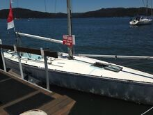 Adams 10 racing boat with lots of sails Bondi Beach Eastern Suburbs Preview