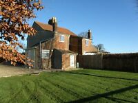 Rose Cottage - 3 Bedroom Semi Detached property, On Farm location, off road parking and garden