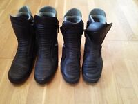 Quality Mens and Ladies Motorcycle Boots (by Daytona)