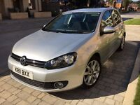 Volkswagen Golf 2.0 TDI GT 5dr, 11 Reg, Less than 50,000 miles, Immaculate condition