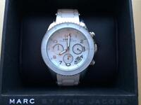Marc Jacobs white womans watch
