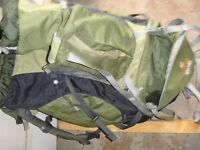 Countour 50+ 10s adjustable tough back pack as recommended by Duke of Edinburgh System