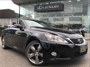 2011 Lexus IS250C 1 Owner Leather Bluetooth