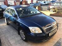 VERY LOW MILEAGE AUTOMATIC TOYOTA AVENSIS SALOON CHEAP QUICK SALE