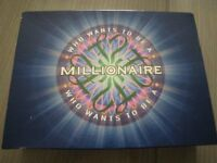 ORIGINAL and SEALED BOXED GAME - WHO WANTS TO BE A MILLIONAIRE. VINTAGE BOXED GAME INTEREST.
