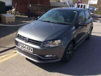 64 PLATE VOLKSWAGEN POLO MATCH EDITION GREY 12,000 MILES CAT C EXCELLENT CONDITION INSIDE AND OUT