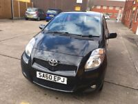 Toyota Yaris black 1 former owner mot until 15/3/19 full service history recently been serviced