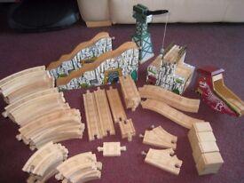 Wooden train set (Thomas Tank)