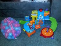 Free !!! VTech Toot-Toot Police Station & Drivers Airport & Play Balls