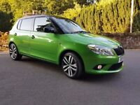 Green Fabia VRS, new engine with only 900 miles on