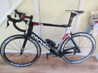 Cervelo S5 - 58cm - Di2 - Mavic Cosmic Carbon Wheels - Amazing Bike