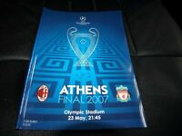 European Champion League final 2007 AC Milan v Liverpool