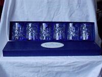 Royal Doulton Whisky / Rocks / Lowball glasses x 6 boxed