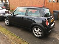 Beautiful Astro Black Mini One 1.6l - fully serviced with full service history and MOT