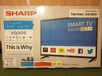 Sharp smart led tv 49 inch